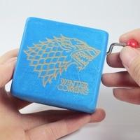 Handmade Game of Thrones music box winter is coming, house stark