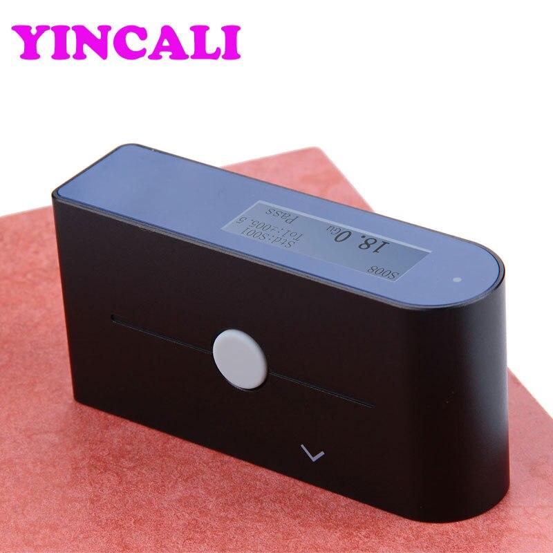 Haute Précision Gloss compteur WG60 Glossmeter Projection Angle 60 Degrés Mesure Gamme 0-200Gu