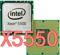 Free shipping for Intel Xeon X5550 quad-core cpu official version of the interface 1366 desktop computer CPU clocked at 2.6G