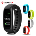 LEMFO L30t Smart Band Bracelet Full color TFT-LCD Screen Dynamic Heart Rate Monitor Bluetooth Smartband for IOS Android Phone