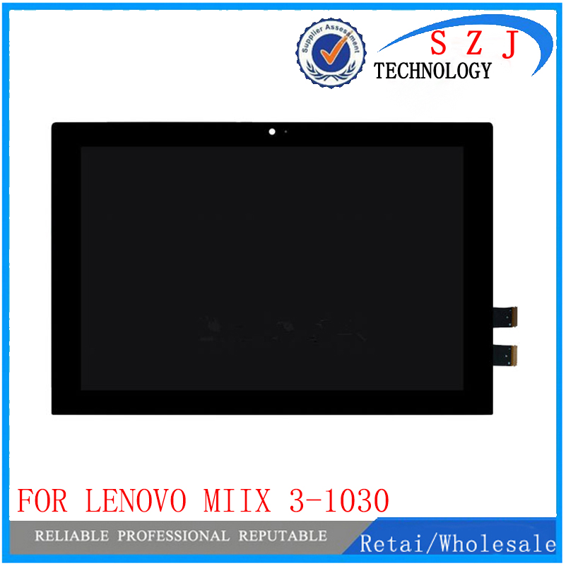 New 10.1 inch case For Lenovo Miix 3-1030 miix 3 1030 Miix3 LCD Display Touch Panel Screen Digitizer Glass Assembly Replacement for lenovo miix 2 8 tablet pc lcd display touch screen digitizer replacement with frame