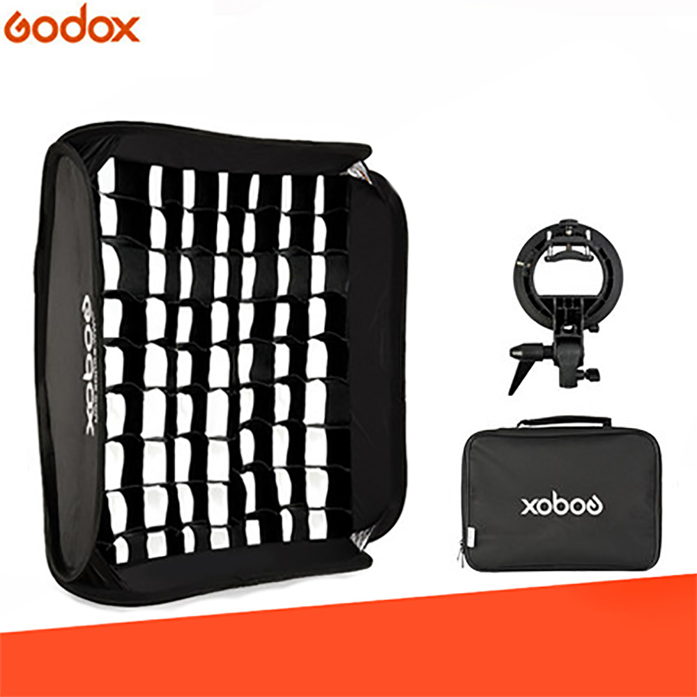 Godox 40 40cm 50 50cm 60 60cm 80 80cm Flash Speedlite Softbox S type Bracket Mount