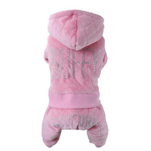 Petalk Warm Winter Pet Clothes Dog Jumpsuit