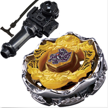 Best Birthday Gift Death Metal spinning fusion double Fury Beyblade parts rapidity grip perseus / 4D Toys Launcher madeira baybl