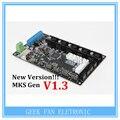 Новая Версия! МКС Gen V1.4 3D управления принтером доска Мега 2560 R3 платы RepRap Ramps1.4 совместимы, с USB A404