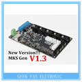 New Version!! MKS Gen V1.4 3D printer control board Mega 2560 R3 motherboard RepRap Ramps1.4 compatible, with USB A404