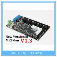 Neue Version!! MKS Gen V1.4 3D drucker steuerkarte Mega 2560 R3 motherboard RepRap Ramps1.4 kompatibel, mit USB A404