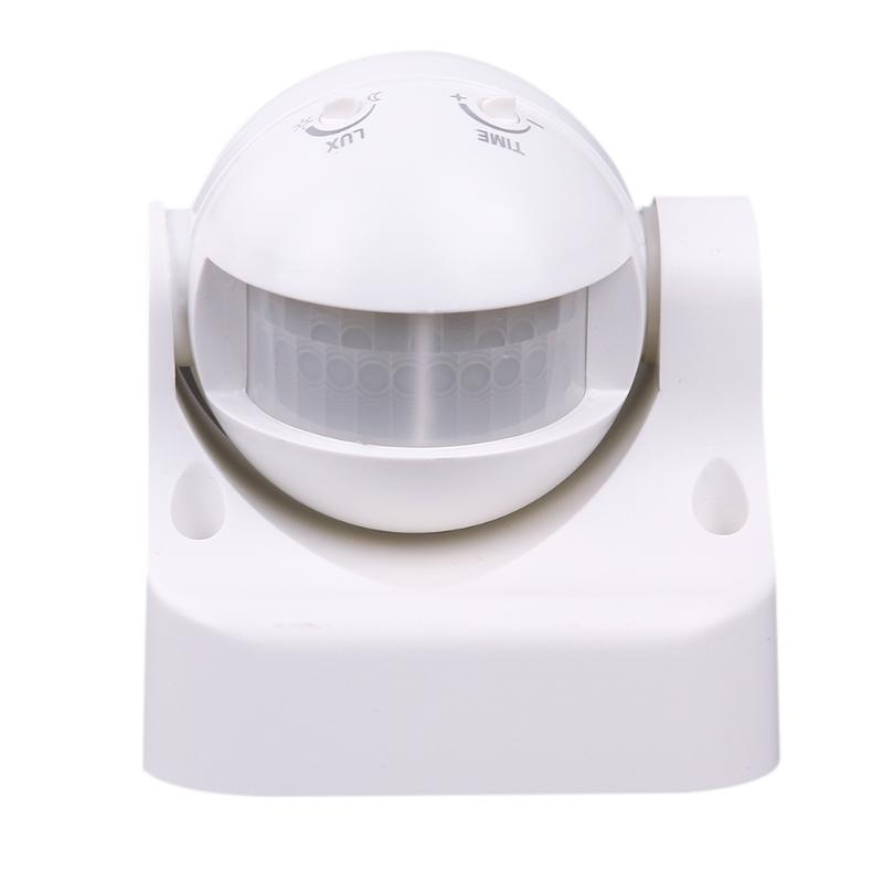 Human Movement Sensor motion sensor switch outdoor Energy-Saving 180 Degree Outdoor Security PIR Infrared Detector White sensor automatic light lamp ir infrared motion control switch energy saving y103