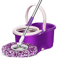 150217/Automatically rotate the mop/Super tough material/High quality stainless steel mops/Dual drive Household mop bucket