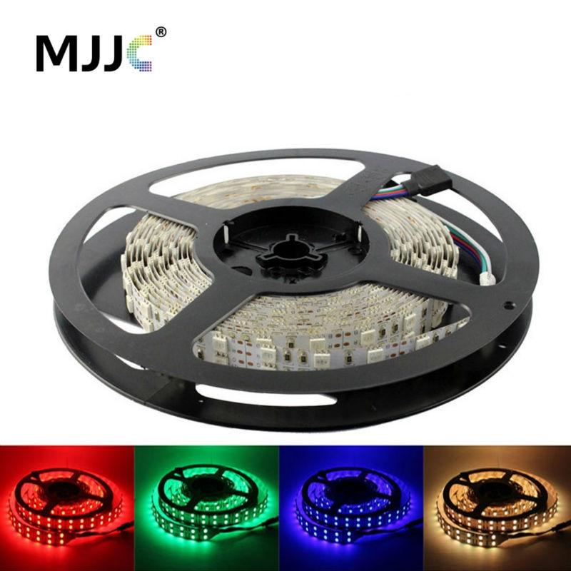 RGB LED Strip Light Waterproof 12V 24V SMD 5050 120 LED Flexible Tape Ribbon Light 5M Warm Cool White RGB LED Strip Lighting