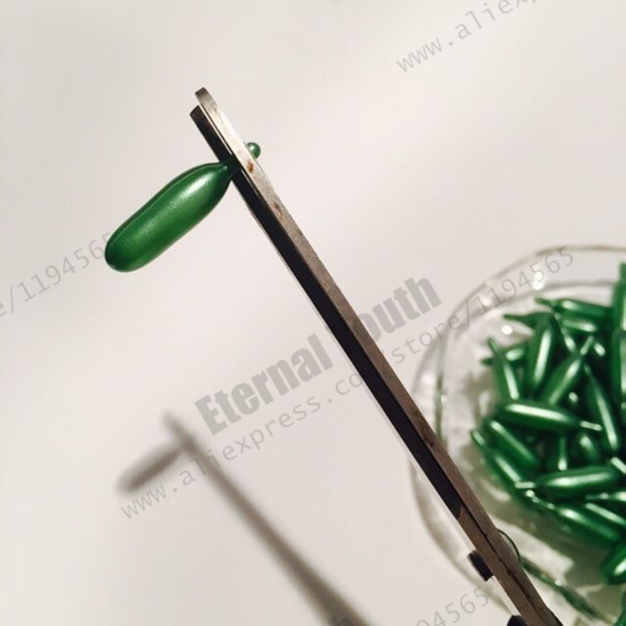 Acne Treatment Green Facial Capsule Serum Vitamin E Shrink Pores Moisturizing External Use Free shipping Pack