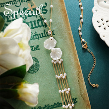 he SPECIAL Brand euramerican tassel necklace forest style temperament  slimming long for women S1926N