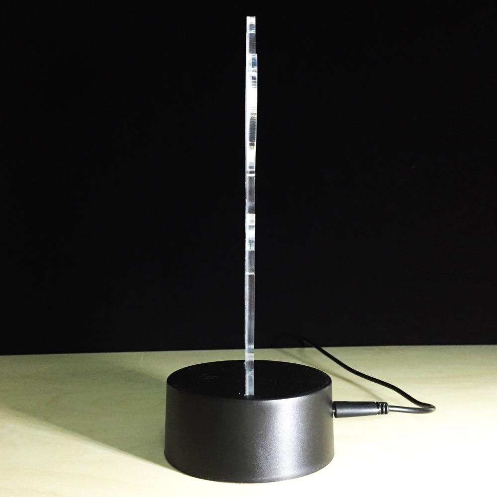 Battery Led 3d Lamp Lampe De Chevet De Chambre Led Usb 3d Night Light Bedroom Lamparas 5 Nouveau Lampe Chevet Led Sjd8