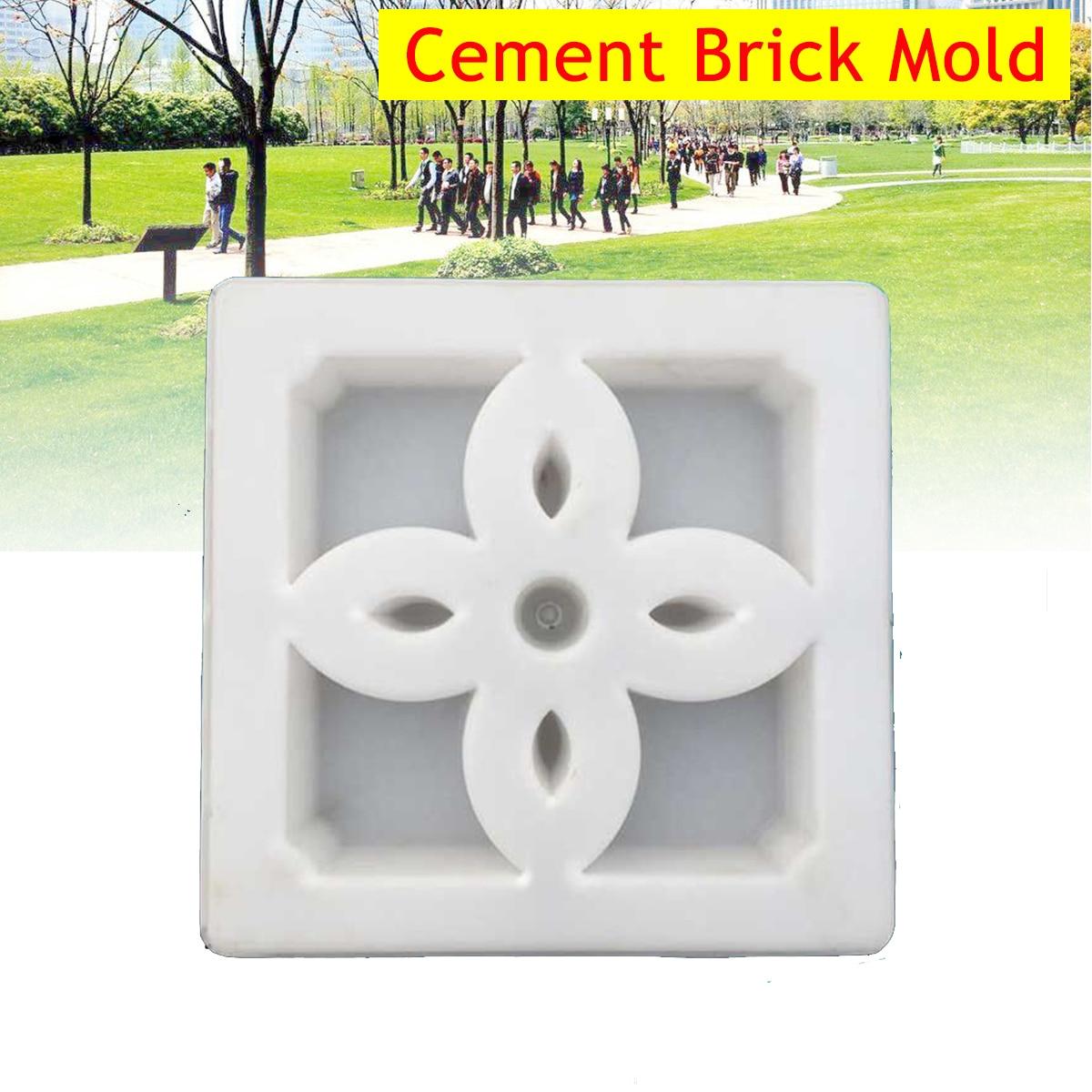 1 Stück 30*30 Cm Pathmate Stein Form Pflaster Beton Sprungbrett Form Pflaster Fertiger Garten Dekoration Beton Formen