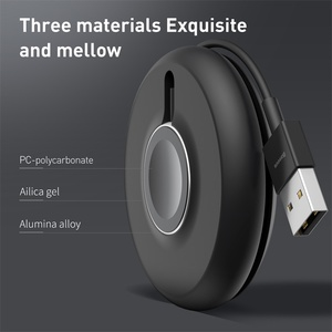 Image 5 - Baseusチーワイヤレス充電器ドック私は4 3 2 1磁気充電器ポータブル高速用のパッドの充電リンゴの時計シリーズ