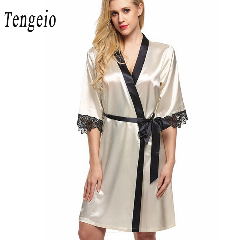 Tengeio Women Nightdress Sexy Sleepwear Nightwear Lace ...