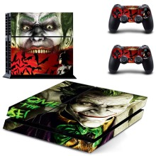 The Joker PS4 Skin Vinyl Decal PS4 Sticker for Sony Playstation 4 Console System & Two Controller Stickers