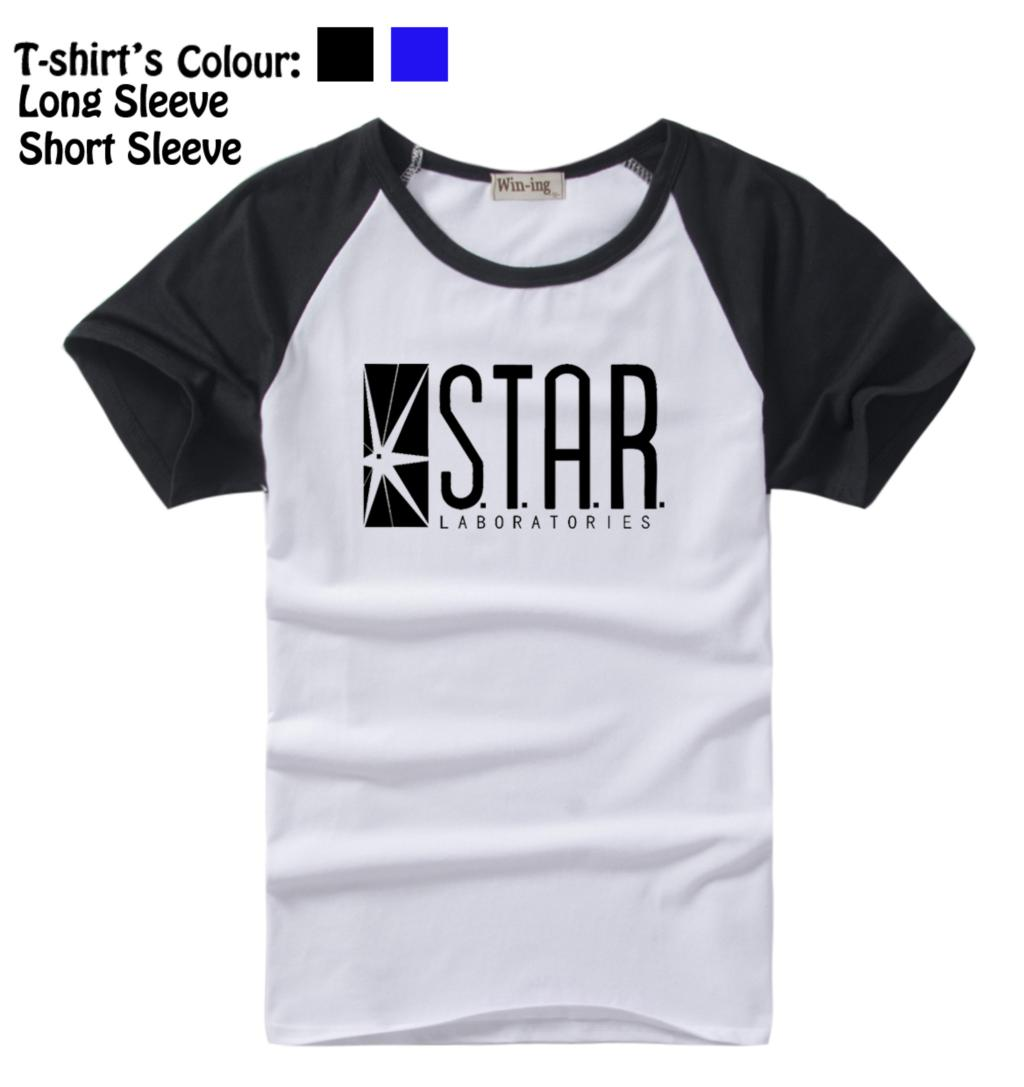 Laboratorios STAR The Flash DC Comics serie de TV S.T.A.R. Camiseta - Ropa de hombre