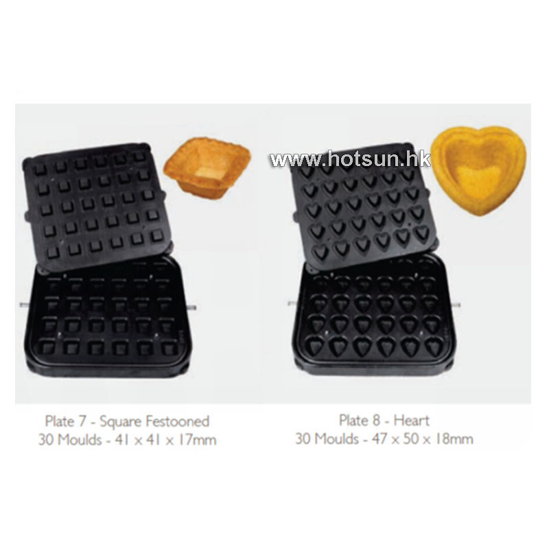 Free Shipping Non-stick Pastry Egg Tart Waffle Mold Plate Tartaletek Baking Plate to Replace for Tartlet Shells Machine french pastry murder