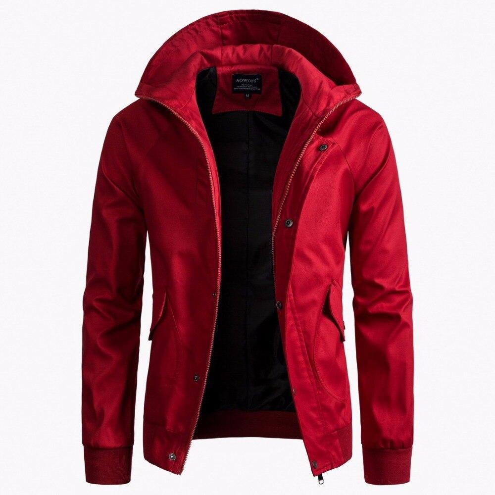 2018 Herbst Männer Kapuzen Jacken Europäischen Größe Männer Pilot Mantel Hoodie Männer Marke Lässige Hip Hop Streetwear Zipper Jacken