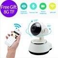 Hd 720 p cámara ip wifi cámara de vigilancia de seguridad inalámbrica doméstica inteligente v380 cámara sd micro red rotativo cctv ios pc