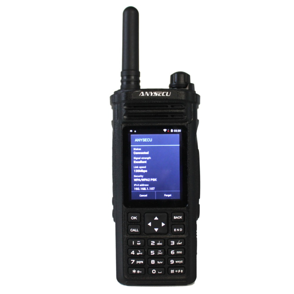 ANYSECU 3G Network Radio 3G-HD6800 With WIFI Walkie Talkie WCDMA GSM 3G Radio Work With Zello Real-ptt Platform