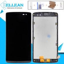 Catteny для LG Leon H320 H324 H340N H326 H345 C50 4,5 «ЖК-дисплей Дисплей Сенсорный экран в сборе с рамкой Бесплатная доставка + Инструменты