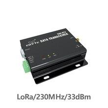 RS232 RS485 230MHz TCXO 2W 33dBm E90-DTU-230N33 Wireless Transceiver Long Distance 8km Radio Modem Narrowband rs232 rs485 industrial grade power 2w 2 3km distance wireless module si4432