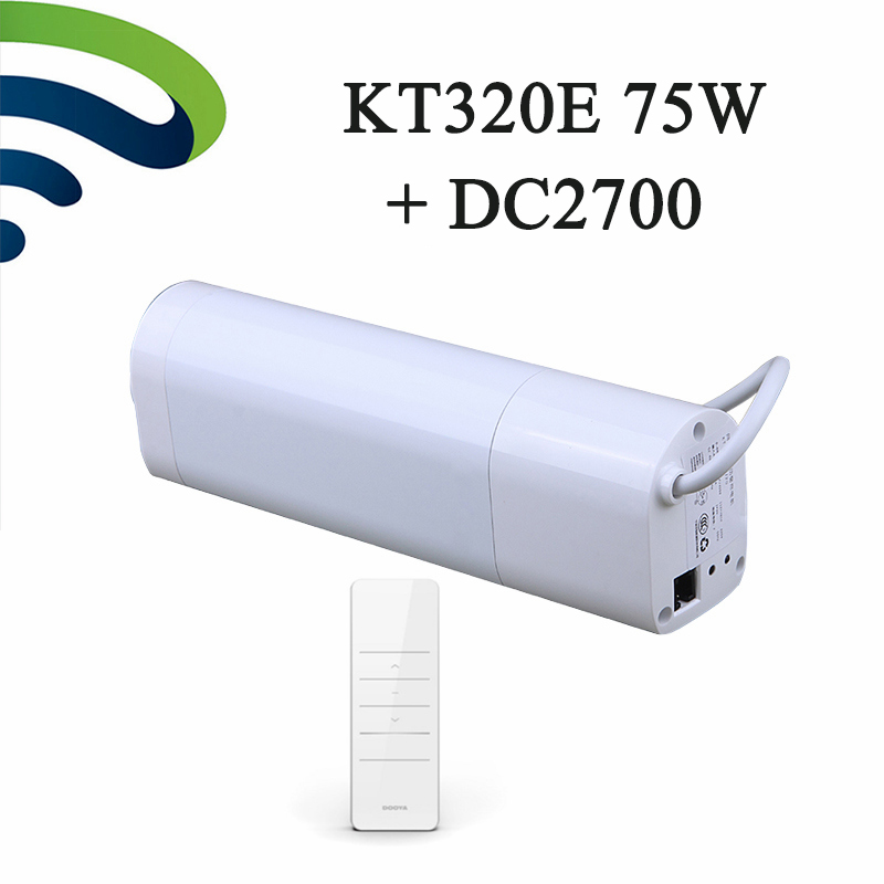 2018 Original Ewelink High Quality Dooya Intelligent Electric Curtain Motor KT320E 75W Smart Home With DC2700 Remote Control2018 Original Ewelink High Quality Dooya Intelligent Electric Curtain Motor KT320E 75W Smart Home With DC2700 Remote Control