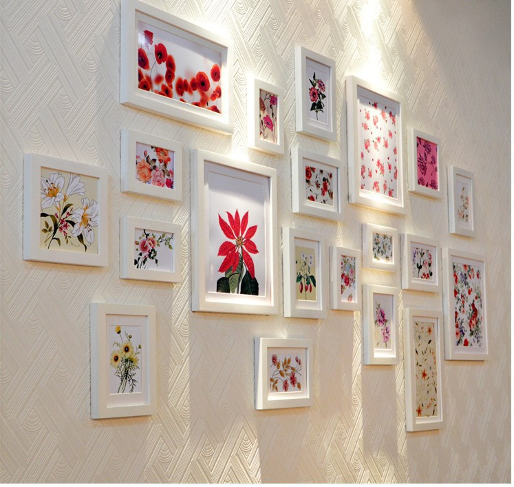 Faux Picture Frames On Walls : Popular photo collage buy cheap lots from