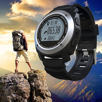 S928 Real Time Heart Rate Tracker GPS Smart Watch Phone Air Pressure Environment Temperature Height Sports