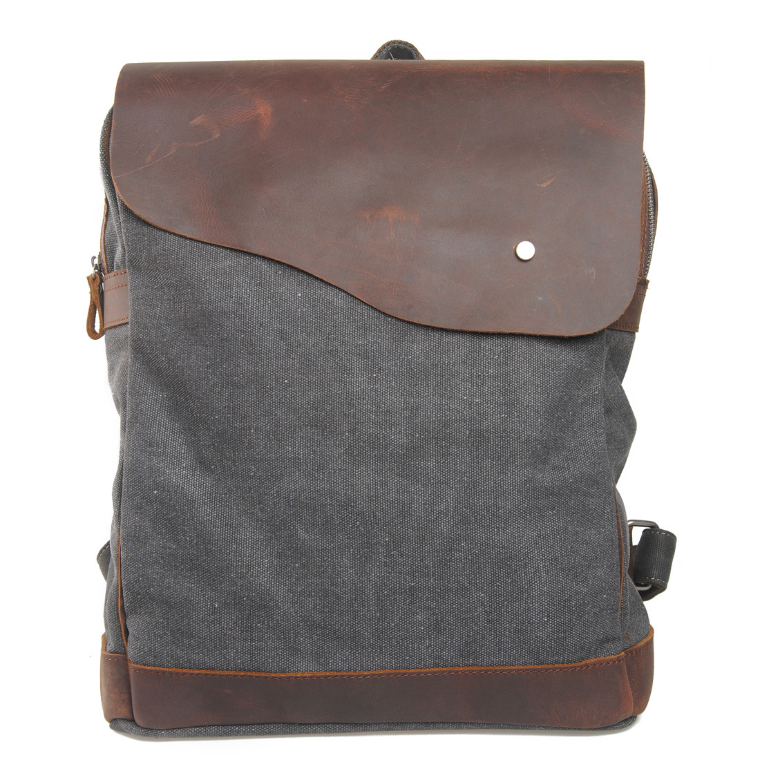 High Quality [Canvas + Real Cow Leather] Luxury Vintage Men Backpack Travel School Bags Large Capacity Laptop Daypack BookbagHigh Quality [Canvas + Real Cow Leather] Luxury Vintage Men Backpack Travel School Bags Large Capacity Laptop Daypack Bookbag