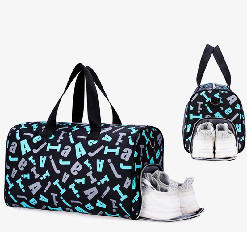 Gym Bag Sports Travel Duffel Bag For Women Waterproof GymYoga Bag Men Sack De Sport Outdoor Training Bag With Shoe Compartment