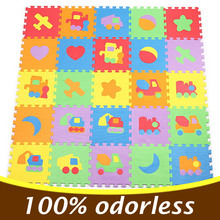 Mosaic carpet mats eva floor puzzle foam mat play style children