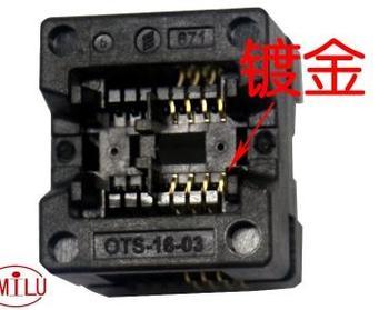 10 sztuk partia SOP8 się DIP8 SOP8 do DIP8 IC gniazdo programatora gniazdo adaptera 150mil tanie i dobre opinie