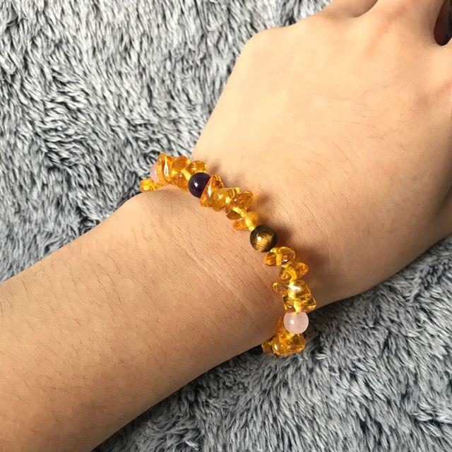 Bracelet Naissance Ambre
