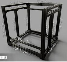 Funssor BLV mgn кубическая Рамка комплект и аппаратный комплект для DIY CR10 3d принтер Z высота 365 мм