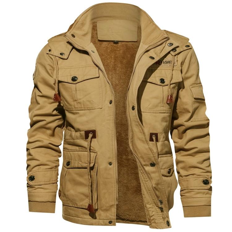 HTB1h.3RUhnaK1RjSZFtq6zC2VXaP Mountainskin Men's Winter Fleece Jackets Warm Hooded Coat Thermal Thick Outerwear Male Military Jacket Mens Brand Clothing SA600