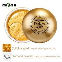 Korea Miskin Diaforce Gold Hydrolyzed Collagen Gel Eye Patch 60 Sheets Under Anti Wrinkle Dark Circle Remover