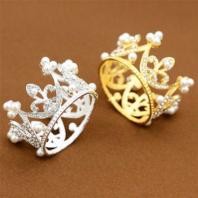 Crown Designs Wedding Tiara Diamante Crystal Rhinestone Hair