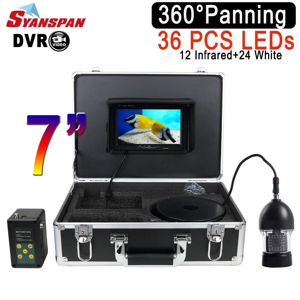 цена на SYANSPAN Waterproof DVR Fish Finder 7