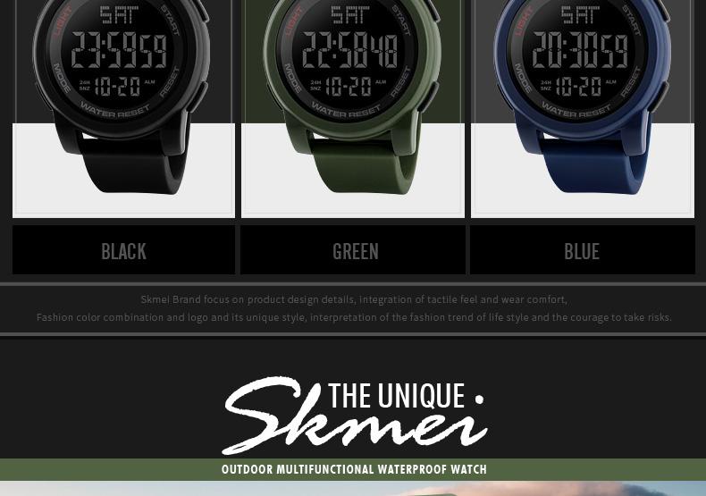 вахта для мужчин военная униформа открытый спортивные часы водостойкий кварцевые электронные светодио дный светодиодные цифровые наручные часы Relogio мужчина 1257