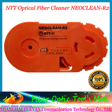 Real NTT Optical Fiber Cleaner NEOCLEAN-R2 Clean 550-800 Fiber end, Fiber Optic Cleaning Free Shipping