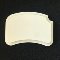 1pc Dental lab Dental material High quality Ceramic Palette mixing plate stain powder mixing tool