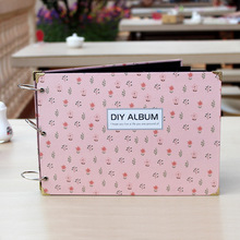 ZUCZUG 10Inch Loose-leaf Album Creative DIY Photo Album 30 Pages Paper Photo Albums Scrapbook For Baby Familiy Wedding Memory(China)