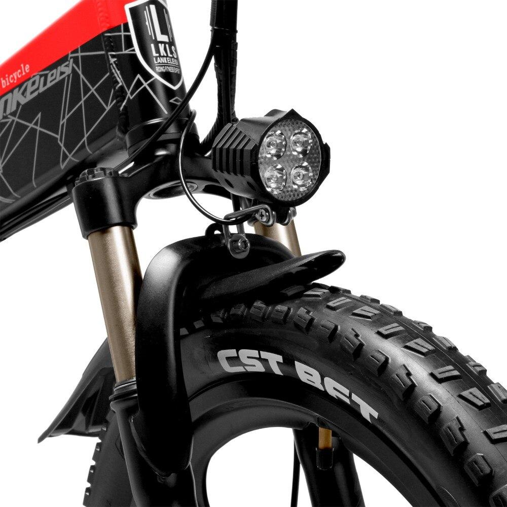G650 20 Zoll Klapp Elektrische Fahrrad 400W Motor 5 Ebene Pedal Unterstützen Full Suspension Mountain Bike (Keine Batterie)