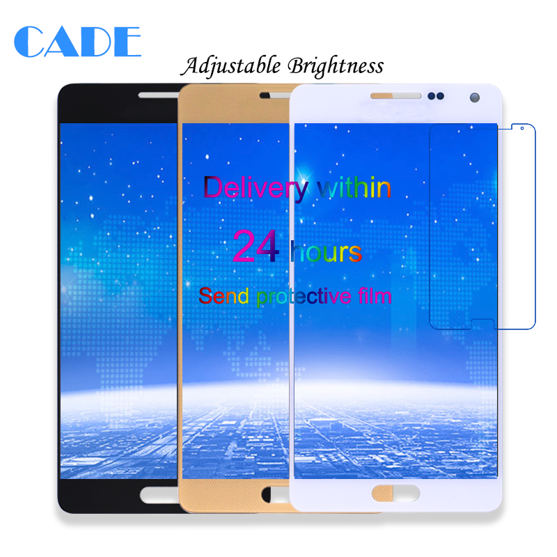 Einstellbare Helligkeit LCD Display Touch Screen Für Samsung Galaxy Samsung Galaxy A5 A500 A500F A500FU A500M Ersatz Teile