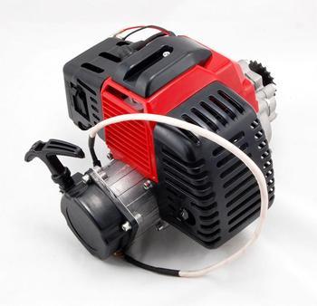 43 47 49cc Motor de arranque de 2 tiempos, Motor de arranque de plástico de arranque por cuerda, carburador para Mini bolsillo para Mini ATV Quad Buggy Dirt Pit Bike