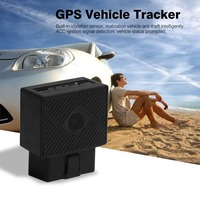 Mini OBD GPS Vehicle Tracker GPS+GSM+SMS/GPRS OBDII Car Automobile Tracking Device Plug and Play with Software & APP