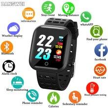 Sport Smart Bracelet IP68 Waterproof Watch Fitness Tracker Heart Rate Sphygmomanometer Multiple Sport Mode Watch For Android IOS